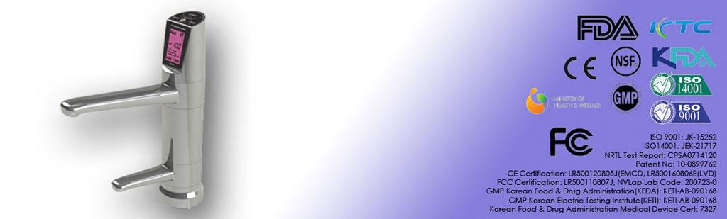 Jonizator do wody - Revelation II, wylewka multimedialna